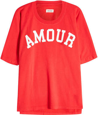 Zadig & Voltaire Amour Printed T-Shirt