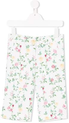 Love Made Love floral print trousers