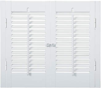 JCPenney JCP HOME HomeTM Faux-Wood Traditional Shutters - 2 Panels