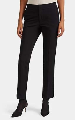 Helmut Lang Women's Stretch-Cotton Slim Crop Rider Pants - Black