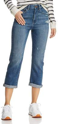 DL1961 Jerry High Rise Vintage Straight Jeans in Marfa