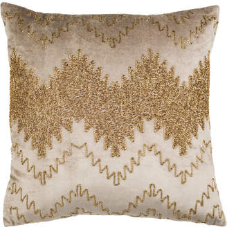 Safavieh Gold Sparkle Pillow