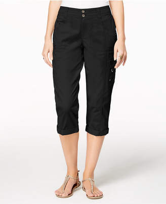 Style&Co. Style & Co Petite Cargo Capris, Created for Macy's