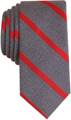 Bar III Men's Acker Stripe Tie, Only at Macy's $55 thestylecure.com