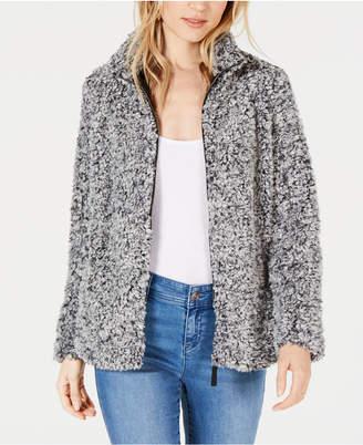 Style&Co. Style & Co Petite Fleece Sherpa Jacket