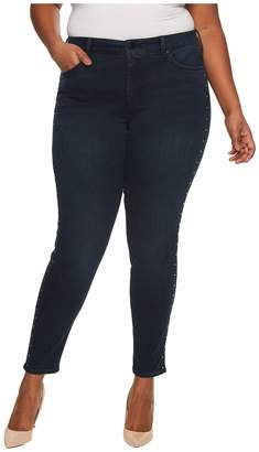 NYDJ Plus Size Plus Size Ami Skinny Legging Jeans with Studs in Future Fit Denim in Mason Women's Jeans
