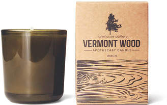 Vermont Wood Candle - Birch - Farmhouse Pottery