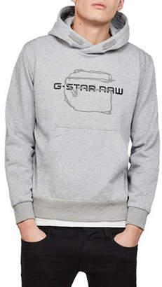 G Star Tars Logo Pullover Hoodie