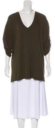 Ralph Lauren Black Label V-Neck Short Sleeve Top