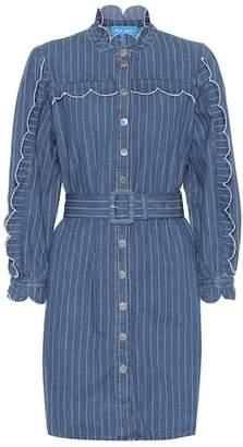 MiH Jeans Covey striped denim dress