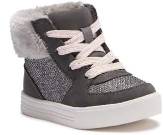 Osh Kosh OshKosh Farrah Faux Fur Sneaker (Toddler & Little Kid)