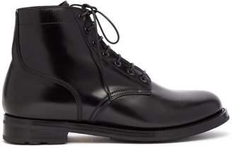 Ralph Lauren Purple Label Ike leather ankle boots