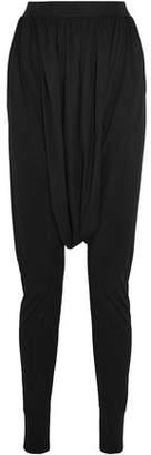 Balmain Sarouel Jersey Harem Pants