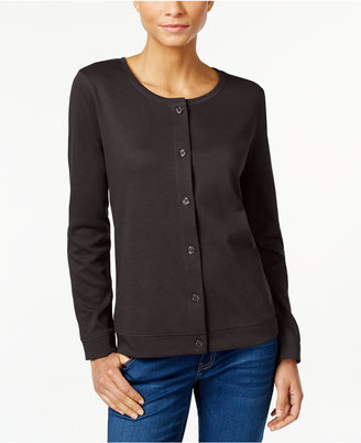 Karen Scott Knit Cardigan, Only at Macy's $36.50 thestylecure.com