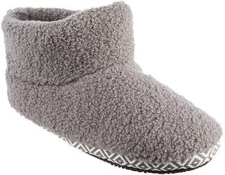 Isotoner Womens Bootie Slippers
