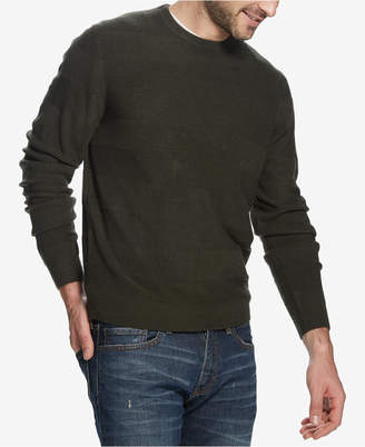 Weatherproof Vintage Men Soft Touch Textured Sweater