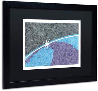 DAY Birger et Mikkelsen Trademark Global Viz Art Ink 'A New Day' Matted Framed Art