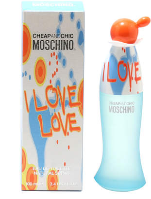 Moschino I Love Love Women's 3.4Oz Eau De Toilette Spray