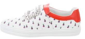 Roger Vivier Sneaky Viv Slip-On Sneakers w/ Tags