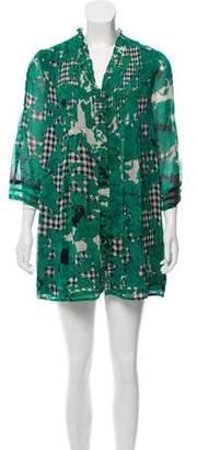Diane von Furstenberg Silk Layla Dress