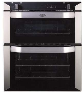 Belling Bi70G Built Under Double Gas Oven In Stainless Steel