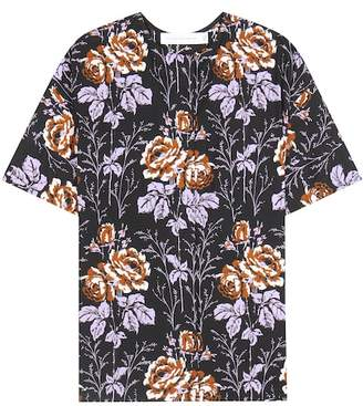 Victoria Beckham Printed cotton top