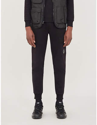 C.P. Company Cargo pocket relaxed-fit cotton-jersey jogging bottoms