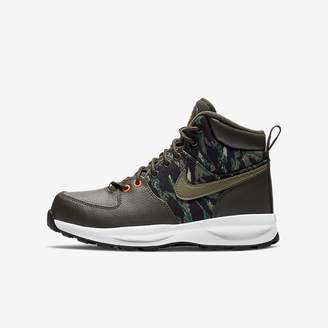 Nike Manoa Print Big Kids' Boot