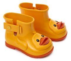 Baby's Mini Sugar Duck Rain Boots $65 thestylecure.com