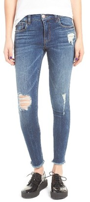 Women's Sts Blue Emma Distressed Ankle Skinny Jeans $48 thestylecure.com