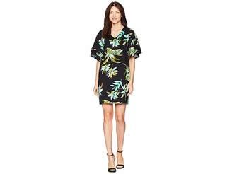 Lauren Ralph Lauren Print Ponte Shift Dress