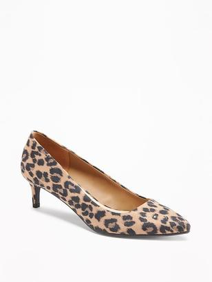 Sueded Mid-Heel Pumps for Women $34.94 thestylecure.com