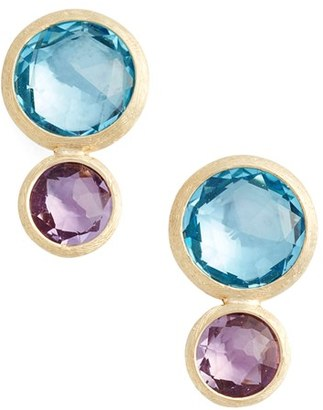 Women's Marco Bicego Jaipur Semiprecious Stone Drop Earrings $845 thestylecure.com