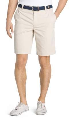 Izod Big & Tall Saltwater Classic-Fit Flex Waist Flat-Front Shorts