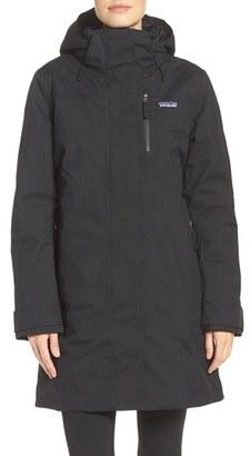 Women's Patagonia Stormdrift Waterproof Parka $379 thestylecure.com
