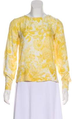 Stella McCartney Silk Printed Top
