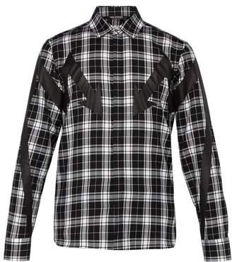 Neil Barrett Lightning Bolt Cotton Shirt - Mens - Black Multi