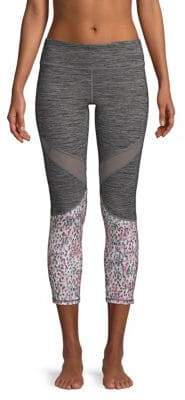 Gaiam Ryan Mesh Capri Leggings