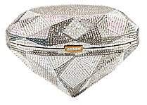 Judith Leiber Couture Women's Crystal-Embellished Diamond-Shaped Clutch