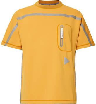 And Wander Taped Neoprene T-Shirt