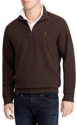 Polo Ralph Lauren Long-Sleeve Zip Sweatshirt