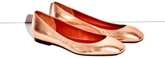 3.1 Phillip Lim Square-Toe Ballet Flat