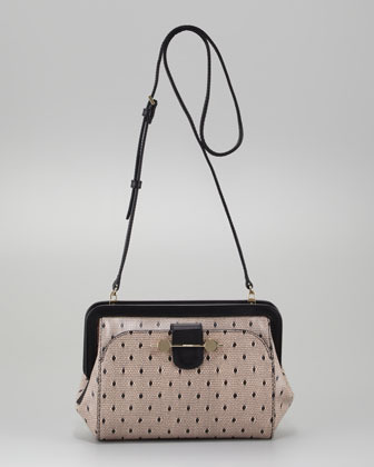Jason Wu Daphne Lace-Print Crossbody Bag