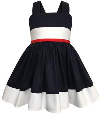2e047d9427ac4 Helena Colorblock Bow-Back Sun Dress