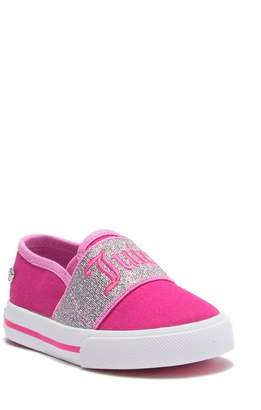 1616172f0f Juicy Couture Juicy Logo Slip-On Sneaker (Toddler)