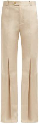 Acne Studios Tohny straight-leg satin-twill trousers