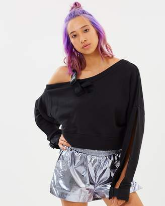 Ivy Park Long Sleeve Harnessed Top