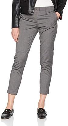 Sisley Women's Trousers Not Applicable Straight Trouser,(Manufacturer size: 40)