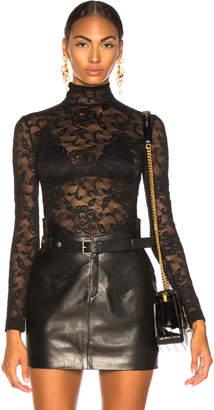 Dolce & Gabbana Lace Turtleneck