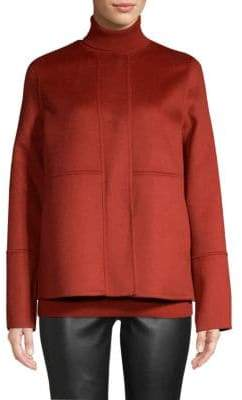 Lafayette 148 New York Rayen Reversible Wool& Cashmere Jacket